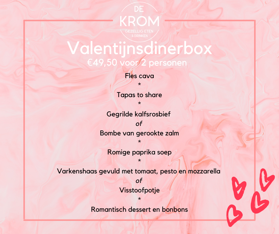 Valentijndinerbox